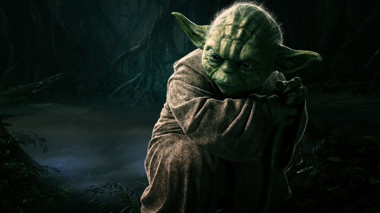 Star Wars movies forests CGI Jedi Yoda The Empire Strikes Back dagobah wallpaper