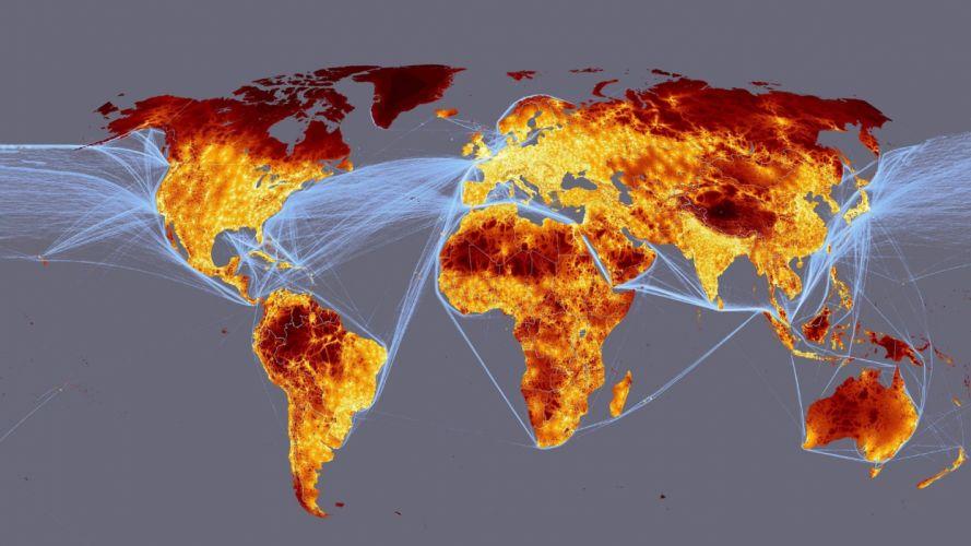 maps digital art world map Geography wallpaper