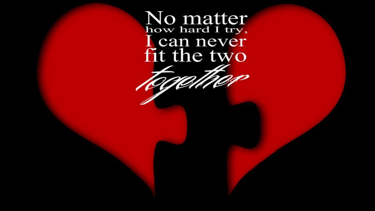 broken lonely heart broken together hearts wallpaper