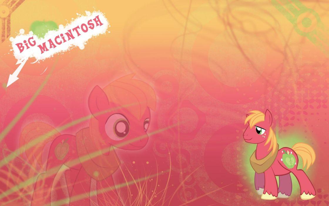 My Little Pony big macintosh wallpaper