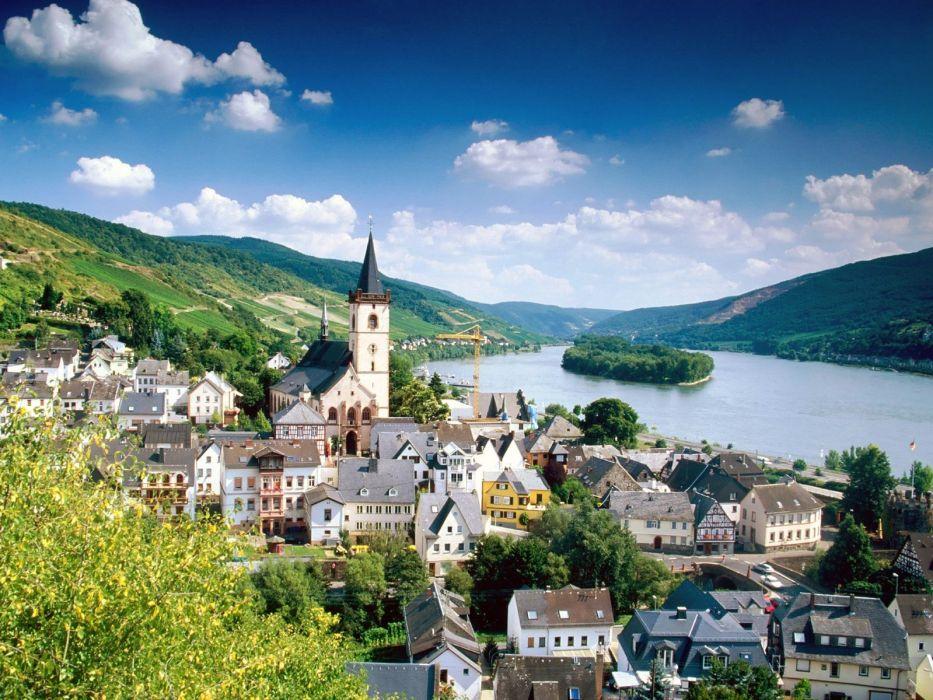 Germany Rhine wallpaper