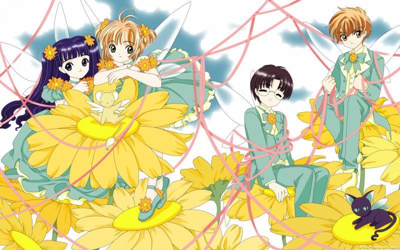 Cardcaptor Sakura Kinomoto Sakura Daidouji Tomoyo wallpaper