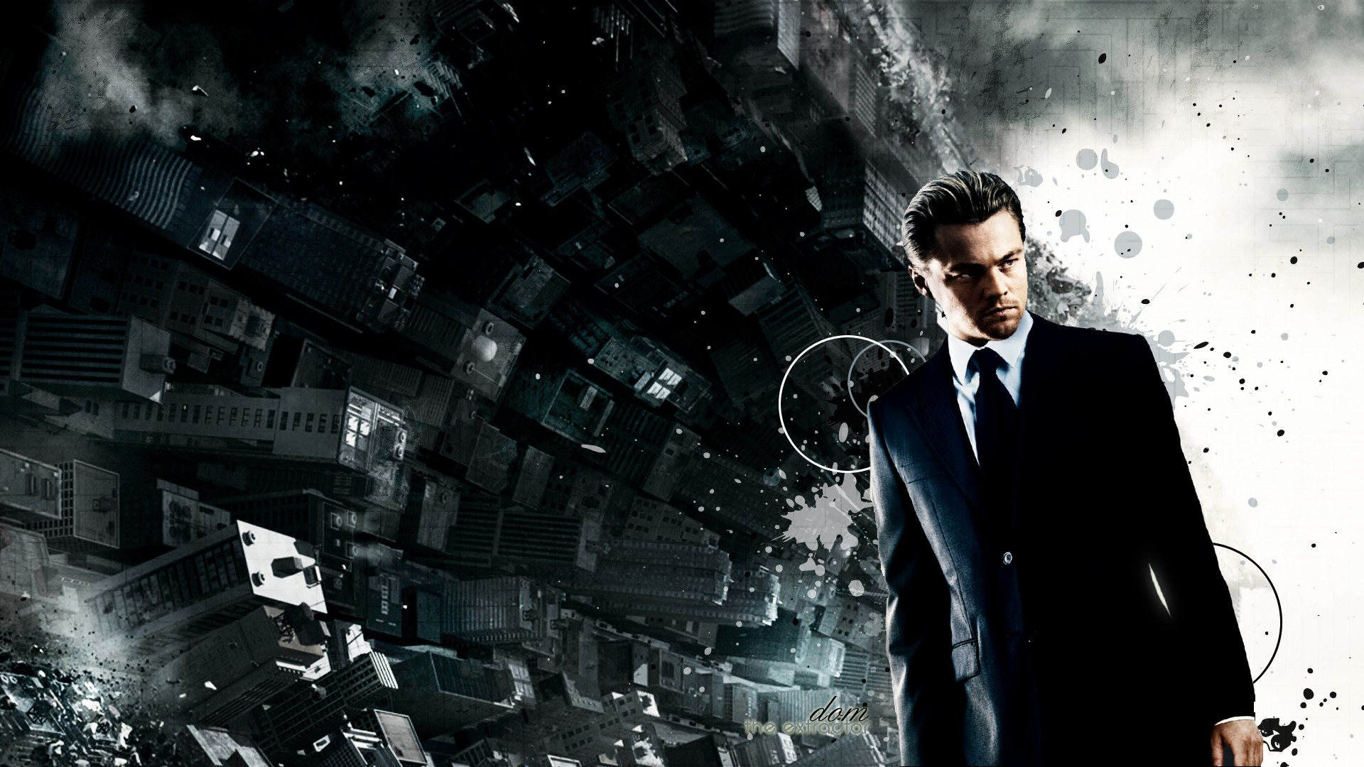 Inception characters Leonardo DiCaprio movie posters wallpaper    Inception Wallpaper 1920x1080
