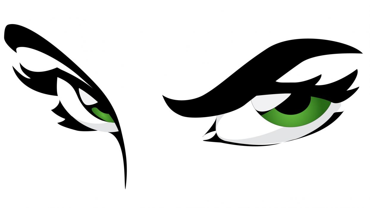 eyes green eyes graphics white background vector wallpaper