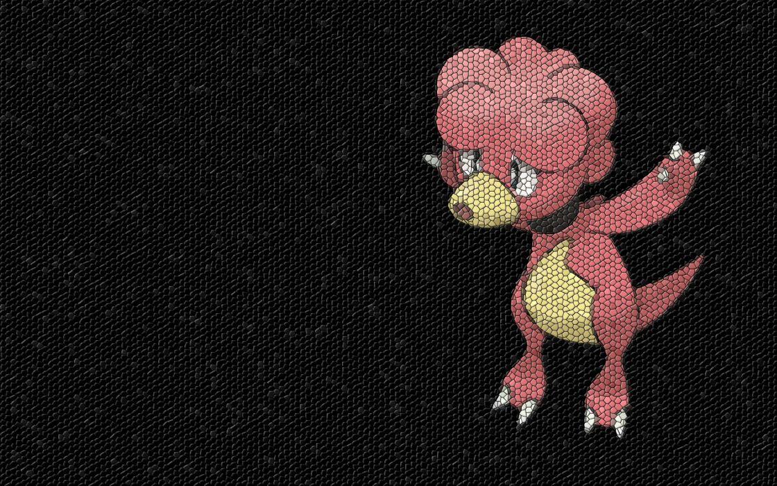 Pokemon mosaic Magby wallpaper