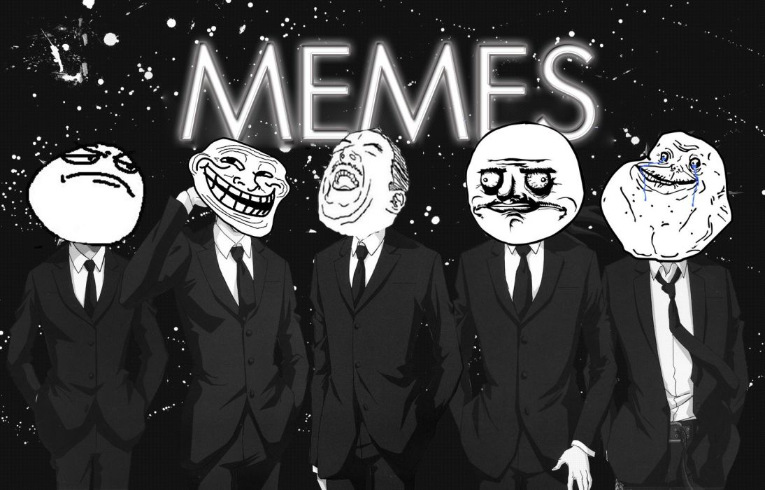 fuck meme trollface forever alone Me Gusta wallpaper
