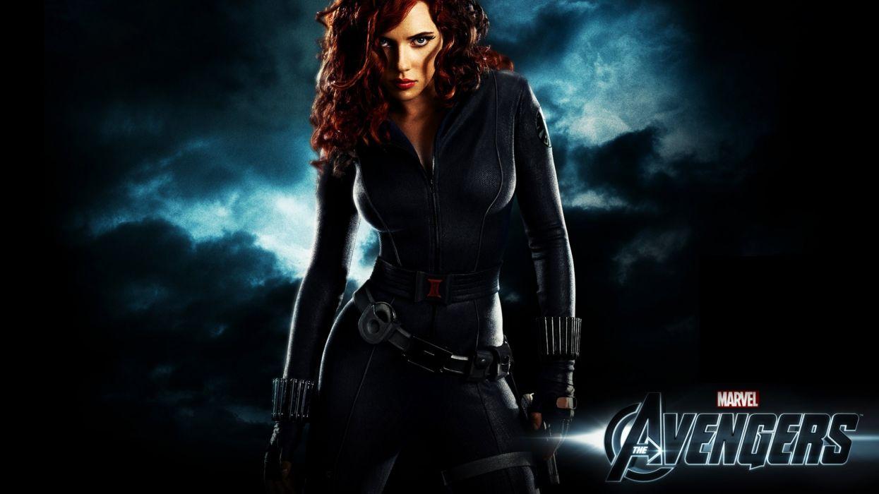 women Scarlett Johansson Black Widow The Avengers (movie) wallpaper