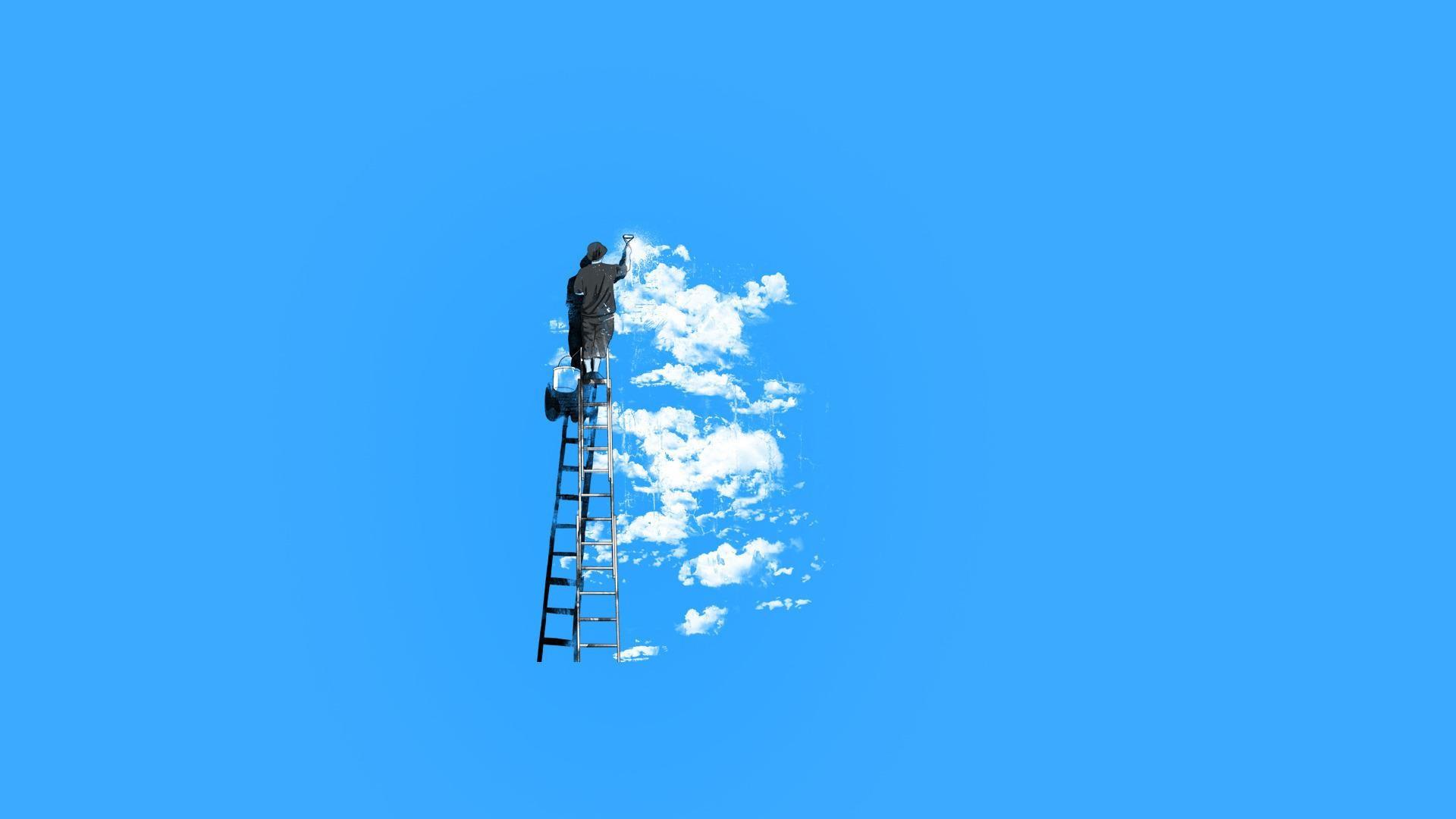 clouds hd wallpaper minimalist - photo #36