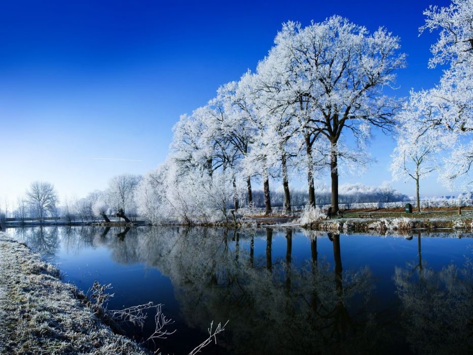 landscapes nature winter HDR photography wallpaper