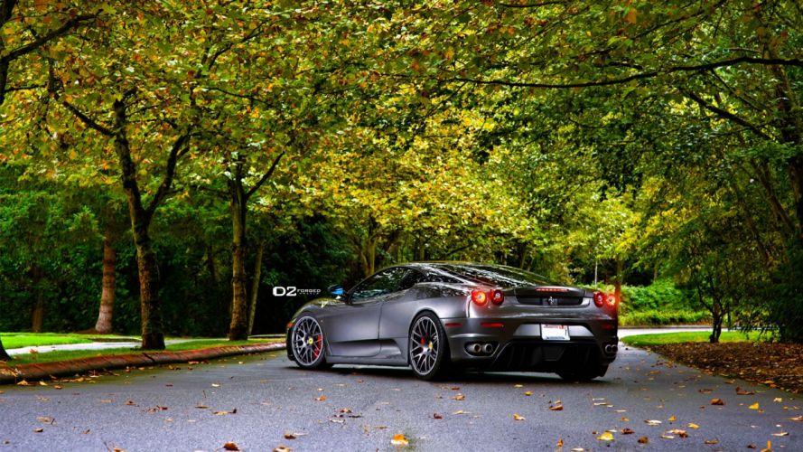 nature cars Ferrari F430 wallpaper