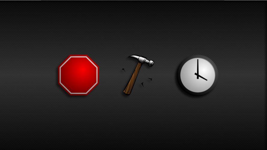 clocks hammer hammertime wallpaper