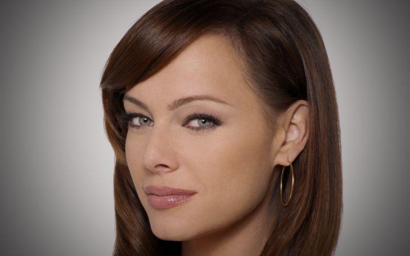 women Melinda Clarke faces wallpaper