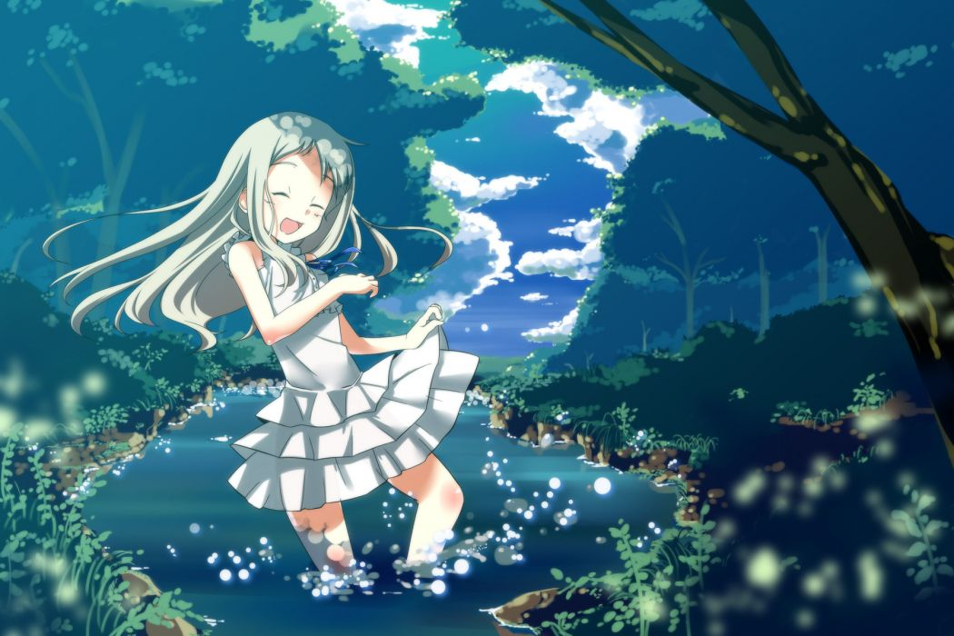 We Still Dont Know the Name of the Flower We Saw That Day anime girls wallpaper