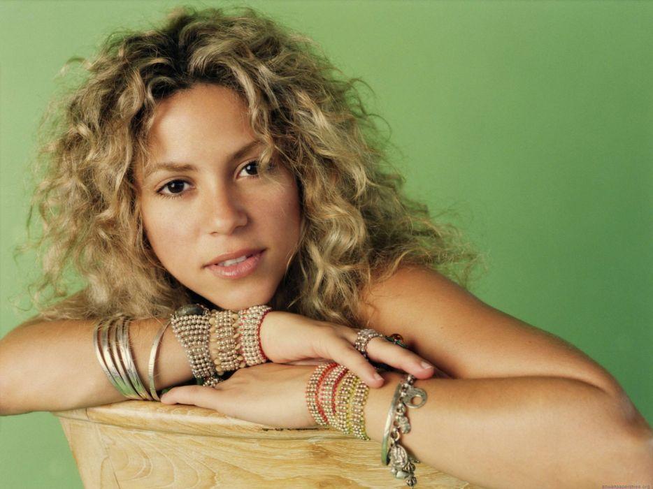 women models Shakira wallpaper