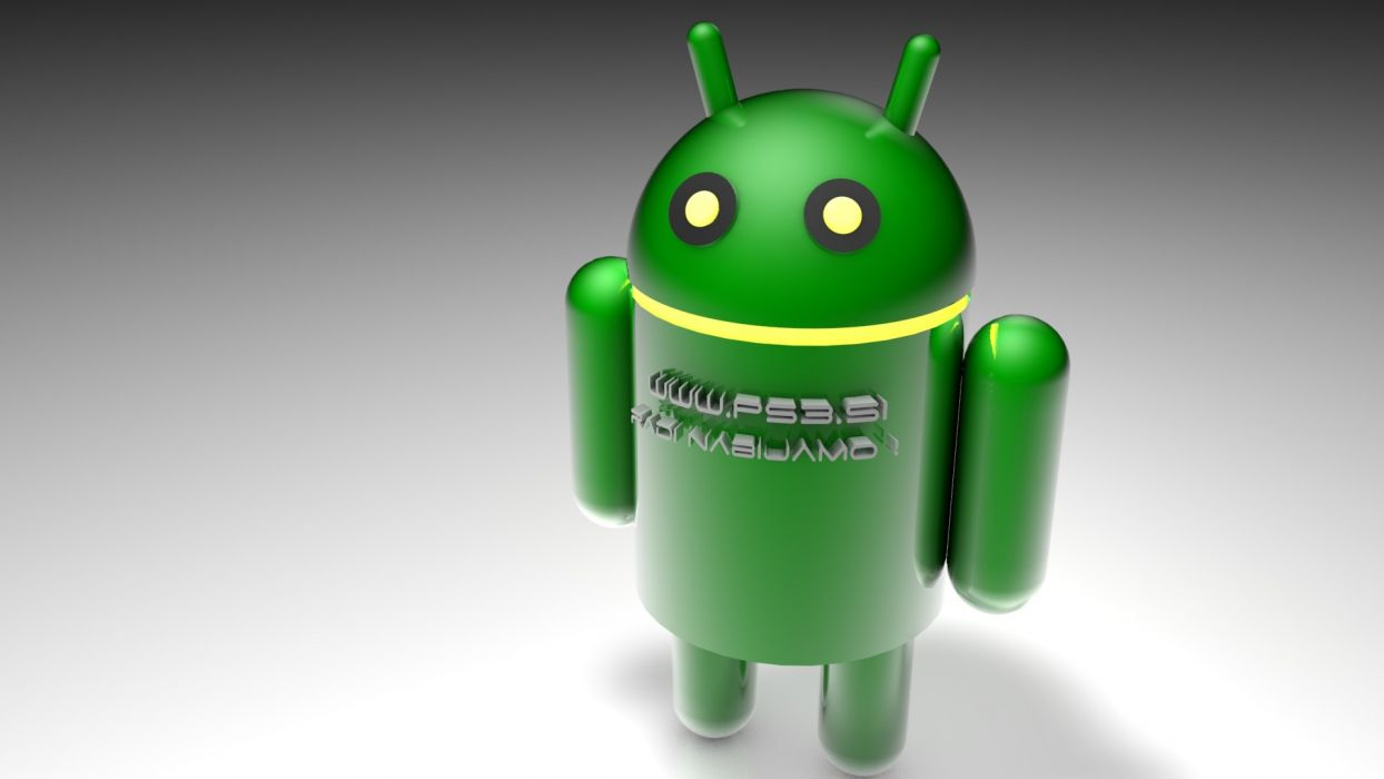 Android logos apps green droid wallpaper