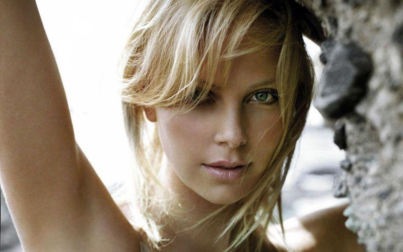 blondes women Charlize Theron wallpaper