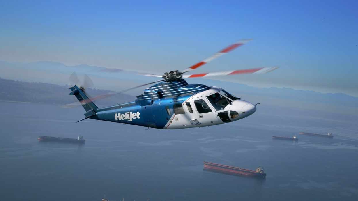 helicopters Sikorsky spirit vehicles s-76 wallpaper