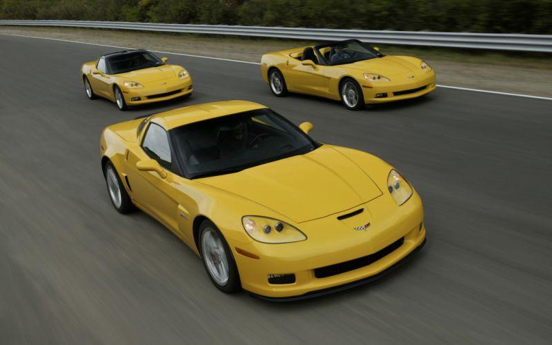 cars Chevrolet Corvette C6 auto wallpaper