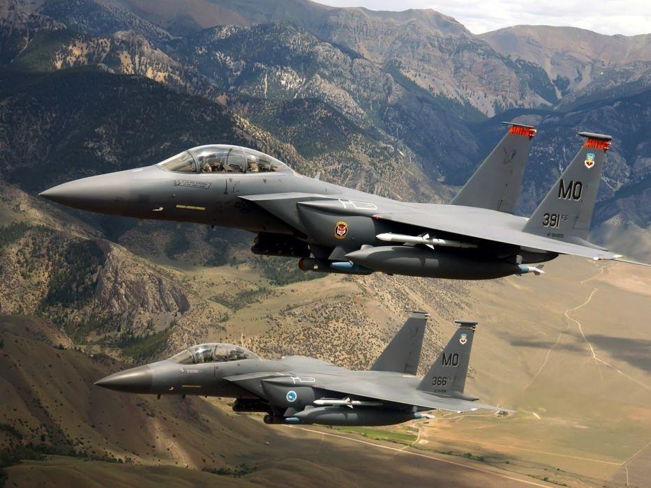 aircraft F-15 Eagle wallpaper