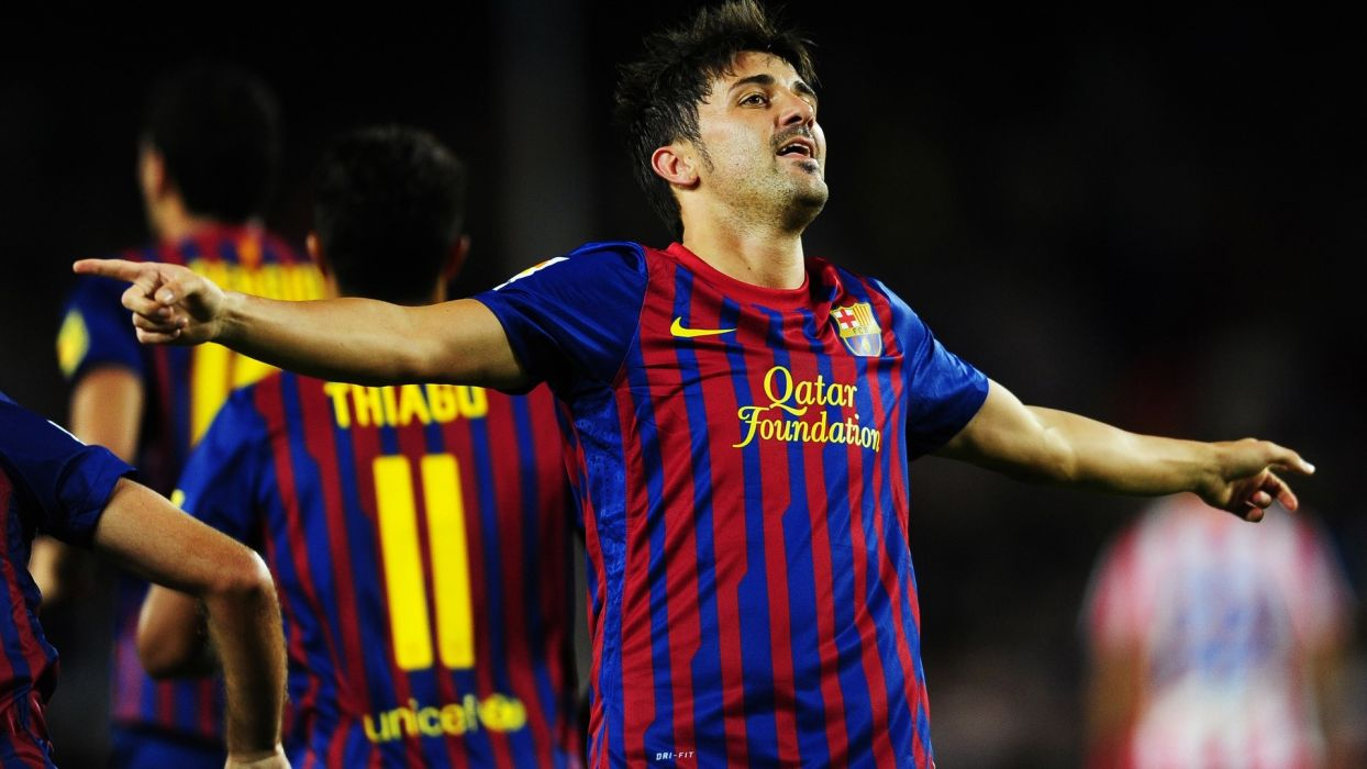 FC Barcelona David Villa wallpaper