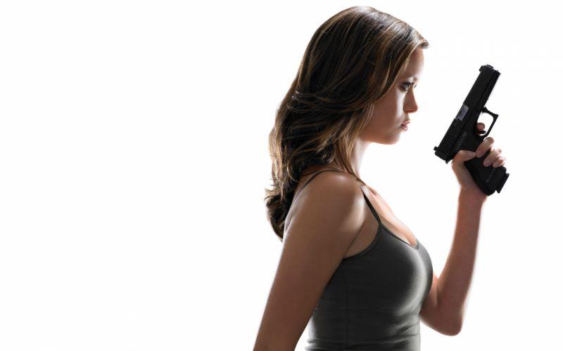 women Summer Glau Terminator The Sarah Connor Chronicles Cameron Phillips wallpaper