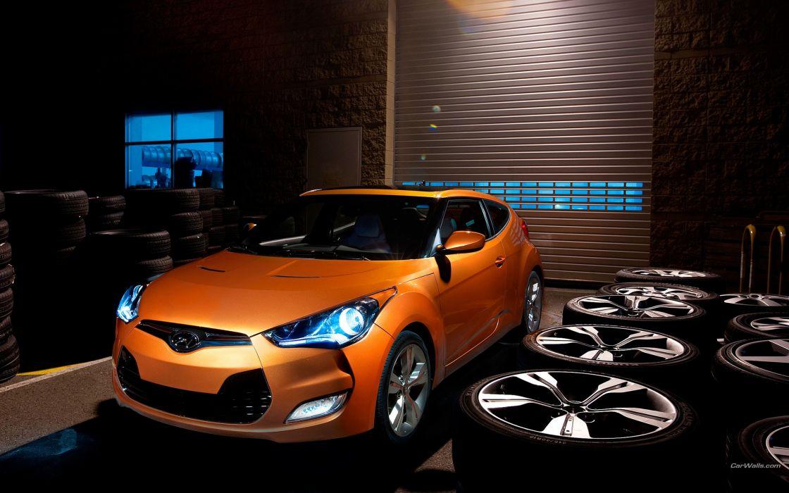 cars Hyundai Veloster wallpaper