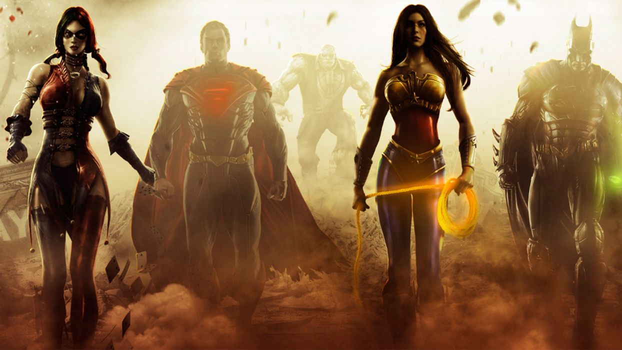 Batman Superman Harley Quinn Wonder Woman New 52 Solomon Grundy Suicide Squad wallpaper