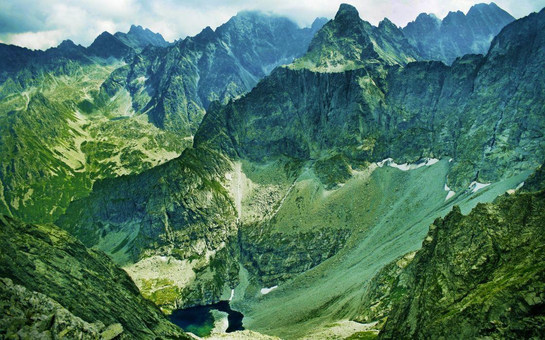 mountains landscapes nature wallpaper