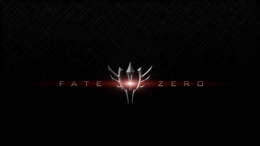 Fate/Zero black background Fate series command seal wallpaper