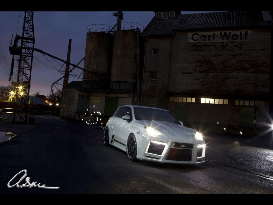 lights giant turbo Porsche Cayenne wallpaper