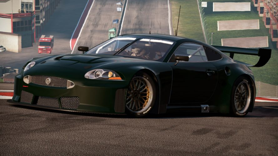video games cars games Need For Speed Shift 2: Unleashed Jaguar XK pc games wallpaper