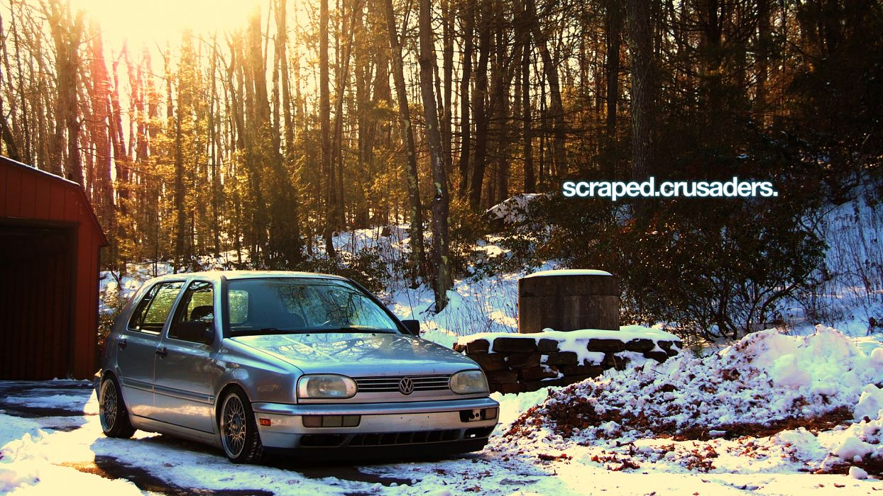 Volkswagen Golf VDub German cars Volkswagen Golf III wallpaper
