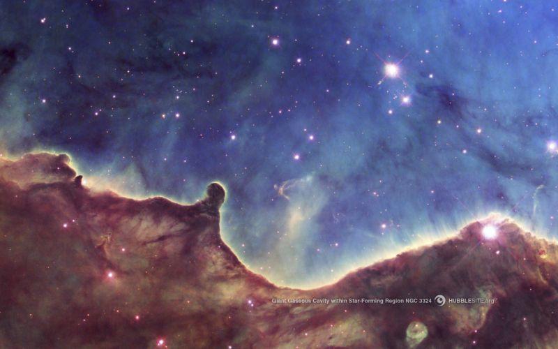 outer space Carina nebula wallpaper
