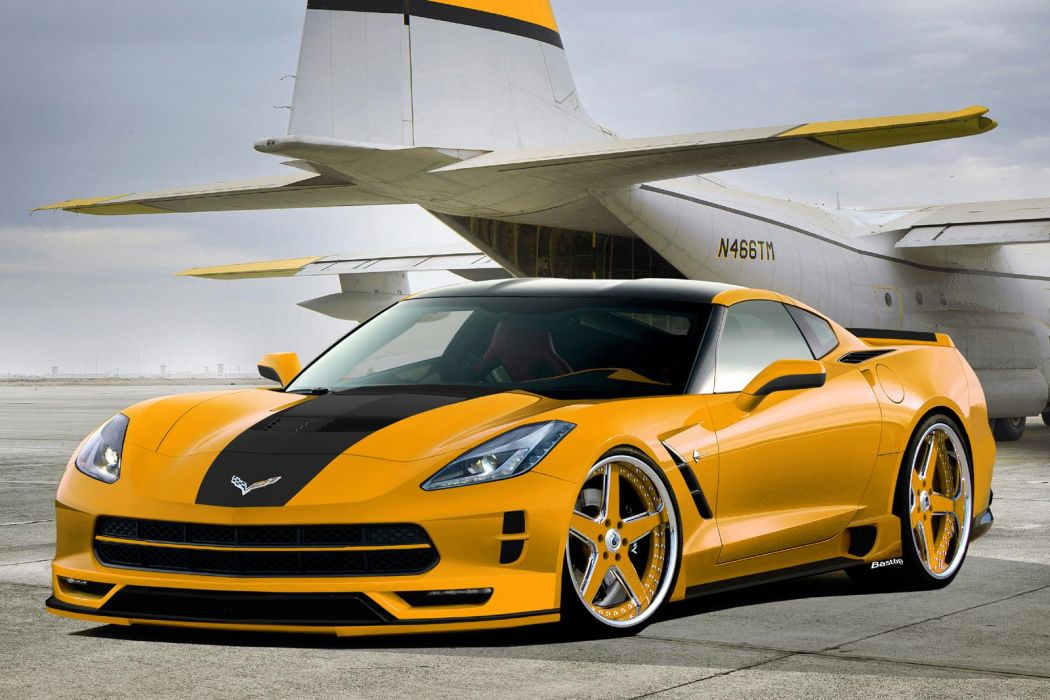 2014 Corvette Stingray Render wallpaper