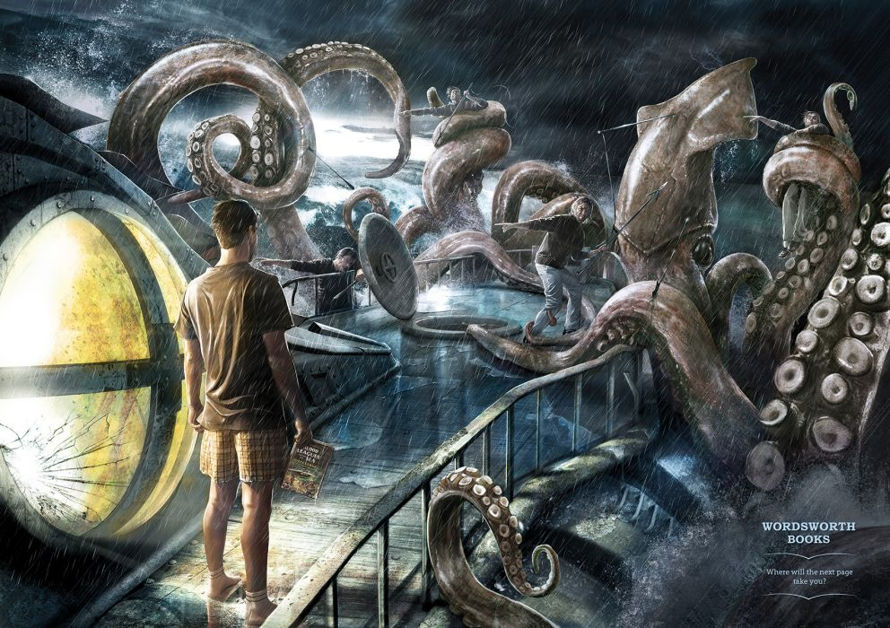 20000 LEAGUES UNDER THE SEA fantasy sci-fi adventure action classic  f wallpaper