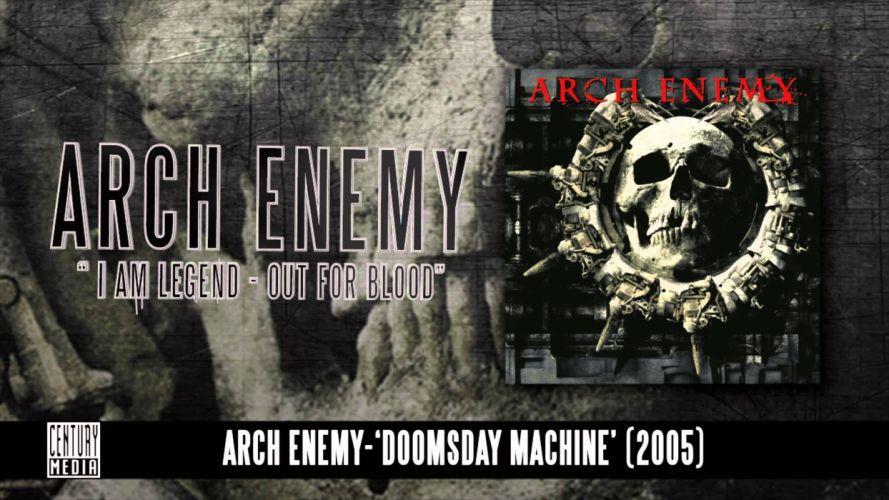 ARCH ENEMY death metal heavy poster dark skull h wallpaper