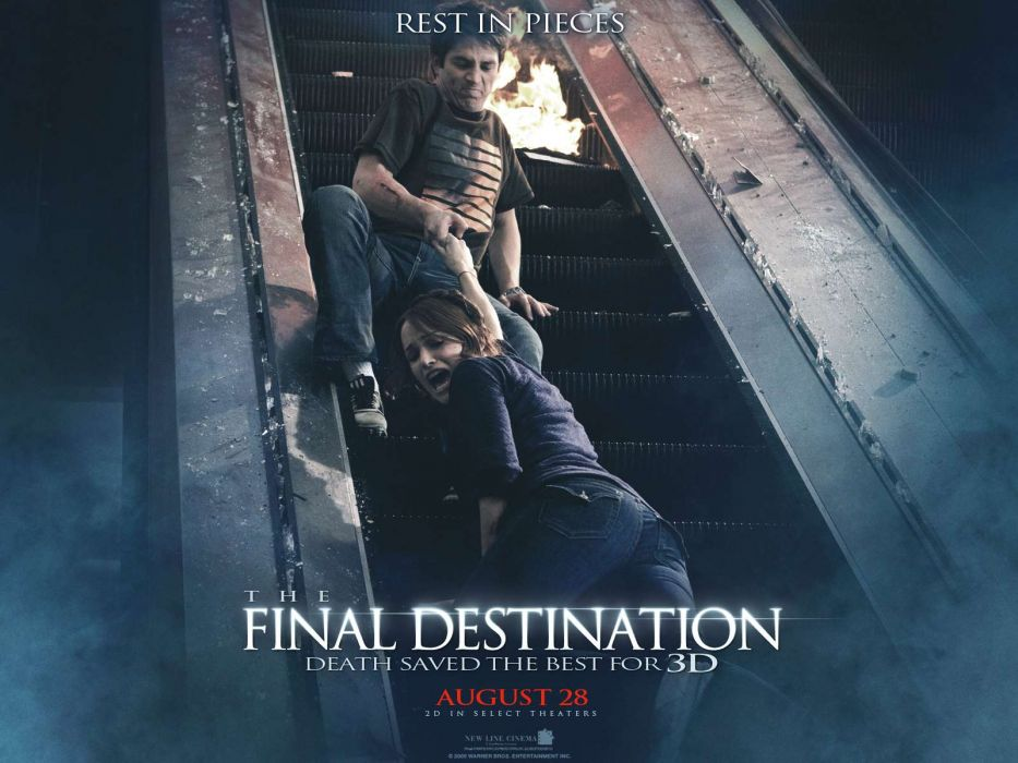 FINAL DESTINATION horror thriller dark poster        g wallpaper
