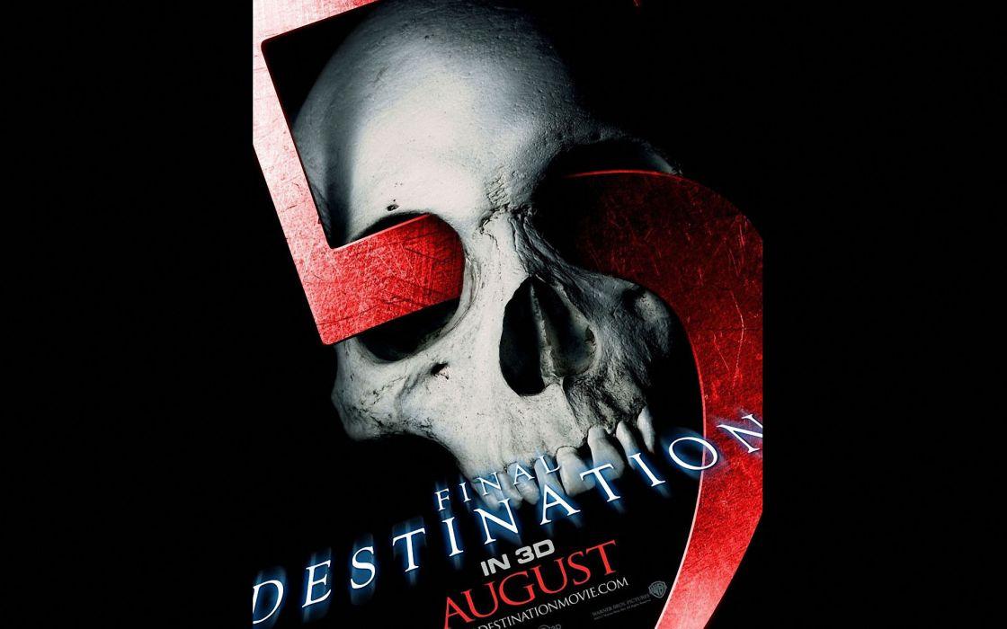 FINAL DESTINATION horror thriller dark poster     fs wallpaper