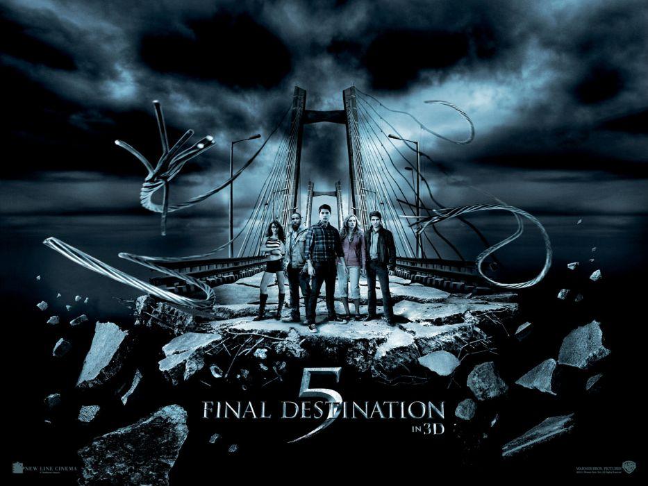 FINAL DESTINATION horror thriller dark poster     t wallpaper