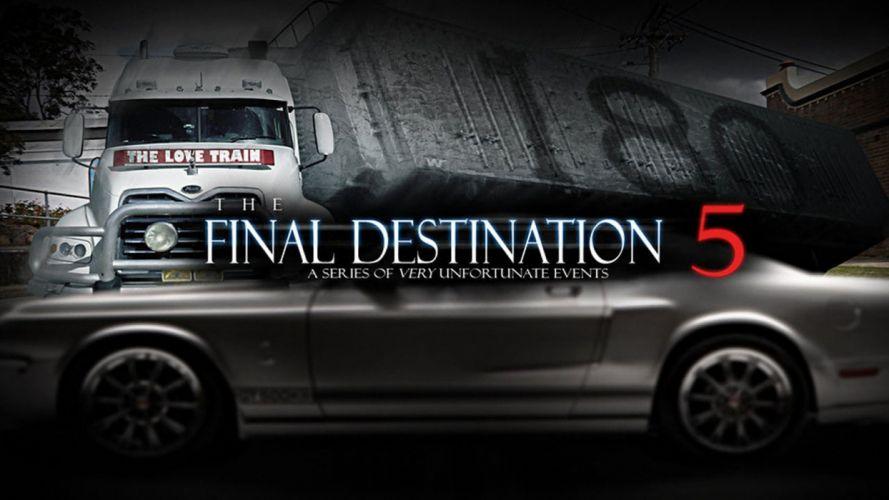 FINAL DESTINATION horror thriller dark poster fg wallpaper