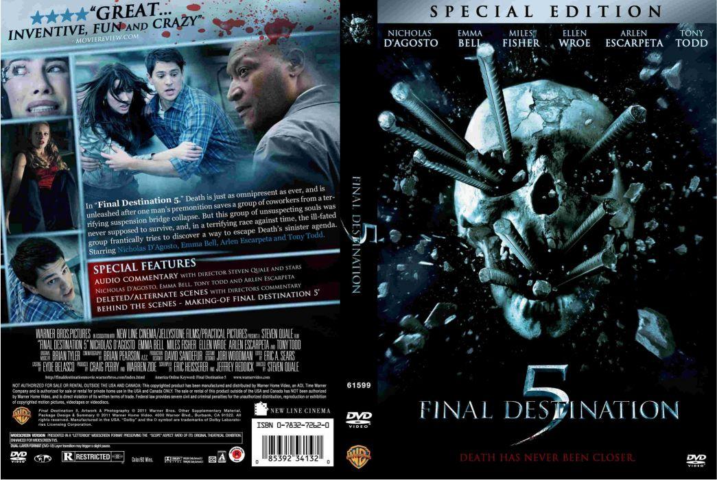 FINAL DESTINATION horror thriller dark poster    f wallpaper