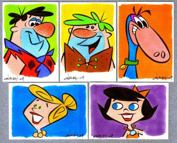 FLINTSTONES cartoon y wallpaper
