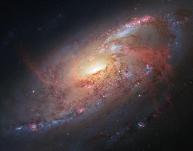 galaxy stars ht wallpaper