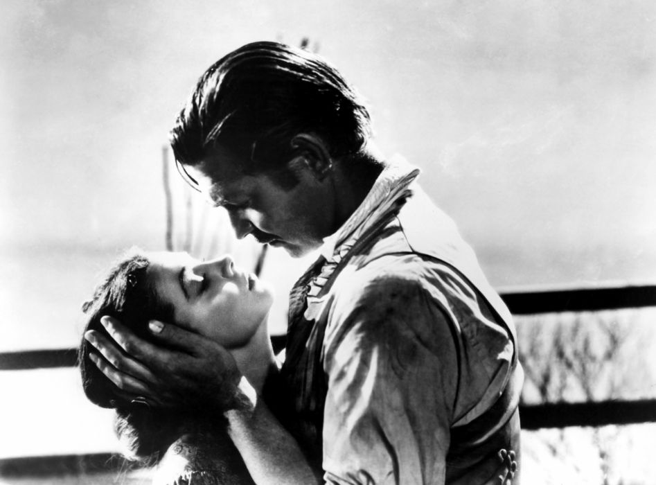 GONE WITH THE WIND Drama Romance War mood love kiss   g wallpaper