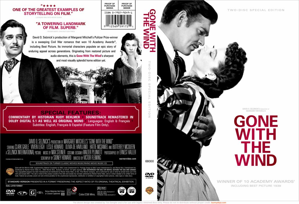 GONE WITH THE WIND Drama Romance War poster d wallpaper