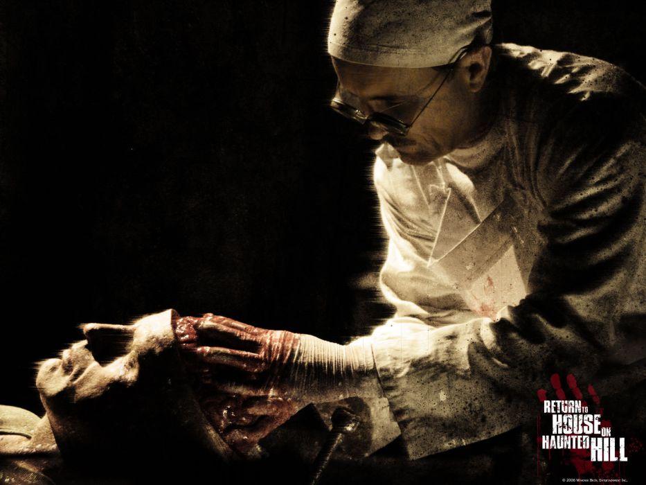 HOUSE ON HAUNTED HILL dark horror blood     g wallpaper