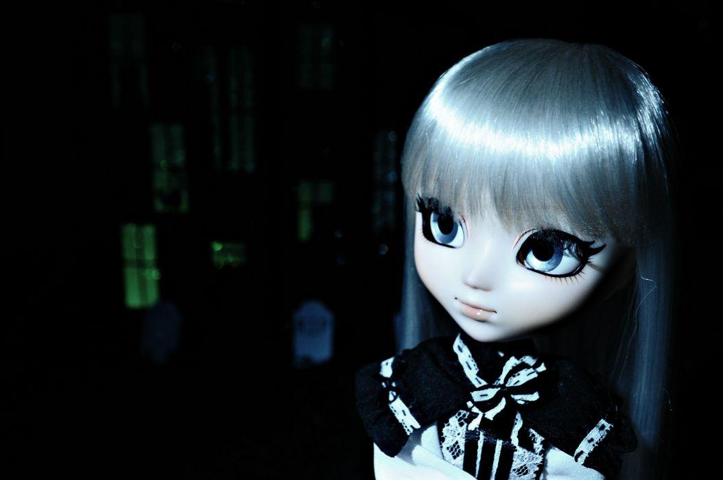 HOUSE ON HAUNTED HILL dark horror doll toy gothic loli goth-loli goth    g wallpaper