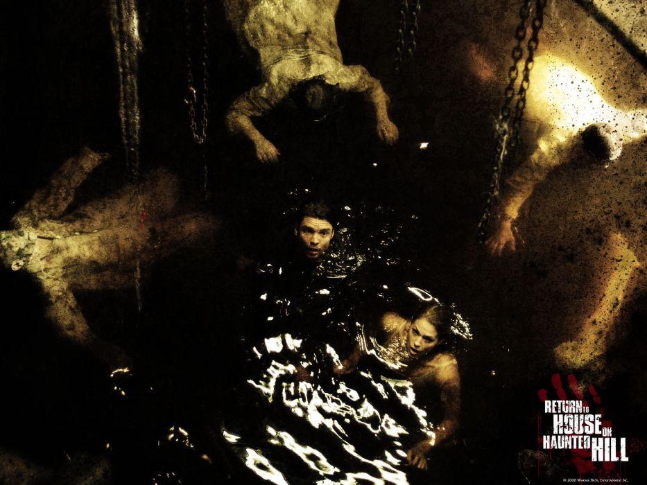 HOUSE ON HAUNTED HILL dark horror poster         g wallpaper
