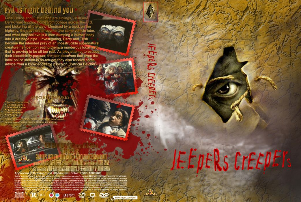 JEEPERS CREEPERS dark horror poster  g wallpaper