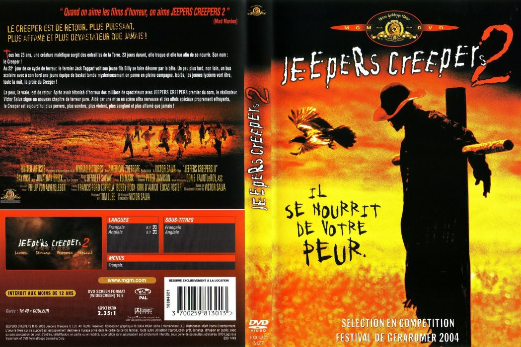 JEEPERS CREEPERS dark horror poster  ge wallpaper